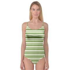 Spring Stripes Camisole Leotard  by designworld65