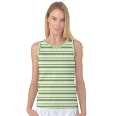 Spring Stripes Women s Basketball Tank Top