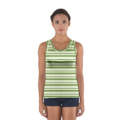 Spring Stripes Sport Tank Top