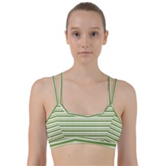 Spring Stripes Line Them Up Sports Bra by designworld65
