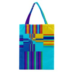 Colorful Endless Window Classic Tote Bag by designworld65