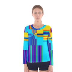Colorful Endless Window Women s Long Sleeve Tee by designworld65
