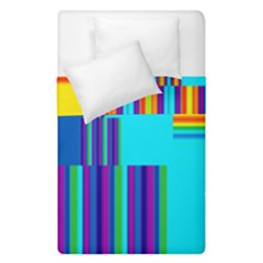 Colorful Endless Window Duvet Cover Double Side (single Size) by designworld65