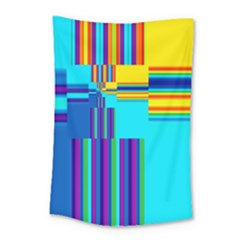 Colorful Endless Window Small Tapestry by designworld65
