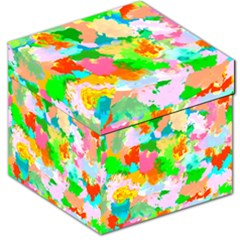 Colorful Summer Splash Storage Stool 12   by designworld65