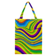 Summer Wave Colors Classic Tote Bag by designworld65