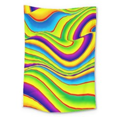 Summer Wave Colors Large Tapestry by designworld65