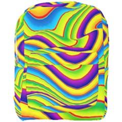 Summer Wave Colors Full Print Backpack by designworld65