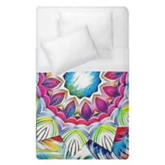 Sunshine Feeling Mandala Duvet Cover (single Size) by designworld65