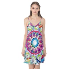 Sunshine Feeling Mandala Camis Nightgown by designworld65