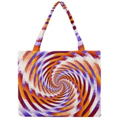 Woven Colorful Waves Mini Tote Bag by designworld65