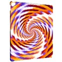Woven Colorful Waves Apple iPad Pro 12.9   Hardshell Case View2