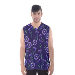 Floral Men s Basketball Tank Top