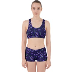 Floral Work It Out Sports Bra Set