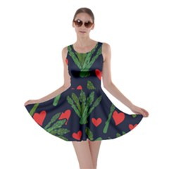 Asparagus Lover Skater Dress by BubbSnugg