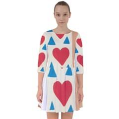 Love Path Smock Dress