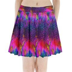 Flowers With Color Kick 3 Pleated Mini Skirt by MoreColorsinLife