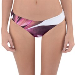 Red Leafs Reversible Hipster Bikini Bottoms by amphoto