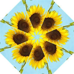 Sunflower Hook Handle Umbrellas (medium) by Valentinaart