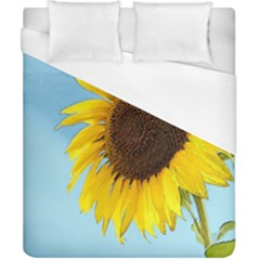 Sunflower Duvet Cover (california King Size) by Valentinaart