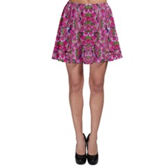 Fantasy Magnolia Tree In A Fantasy Landscape Skater Skirt by pepitasart