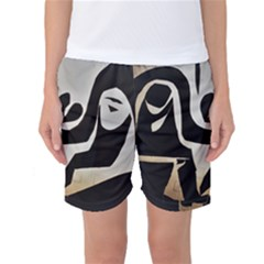 With Love Women s Basketball Shorts by MRTACPANS