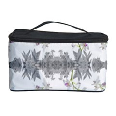 Floral Collage Pattern Cosmetic Storage Case by dflcprints