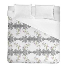 Floral Collage Pattern Duvet Cover (full/ Double Size) by dflcprints