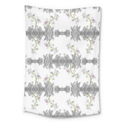 Floral Collage Pattern Large Tapestry by dflcprints