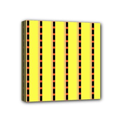 Pattern Background Wallpaper Banner Mini Canvas 4  X 4  by Nexatart