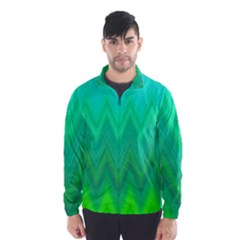Zig Zag Chevron Classic Pattern Wind Breaker (men)