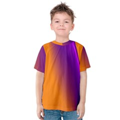 Lines Network The Ribbon Red Kids  Cotton Tee