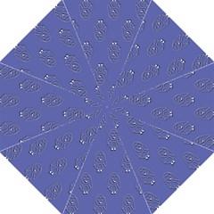 Owl Pattern Wallpaper Vector Hook Handle Umbrellas (medium) by Nexatart