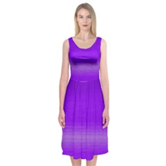 Ombre Midi Sleeveless Dress