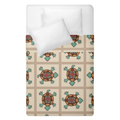 Native American Pattern Duvet Cover Double Side (single Size) by linceazul