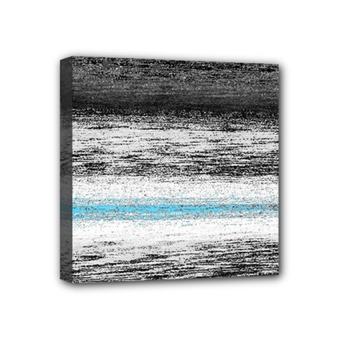 Ombre Mini Canvas 4  X 4  by ValentinaDesign