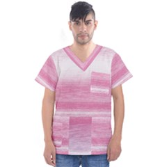 Ombre Men s V Neck Scrub Top