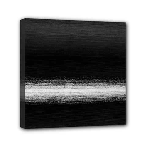 Ombre Mini Canvas 6  X 6  by ValentinaDesign