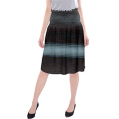Ombre Midi Beach Skirt