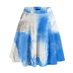 Ombre High Waist Skirt by ValentinaDesign