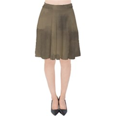 Ombre Velvet High Waist Skirt by ValentinaDesign