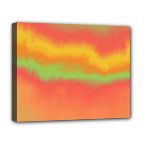 Ombre Deluxe Canvas 20  X 16   by ValentinaDesign