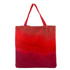 Ombre Grocery Tote Bag by ValentinaDesign