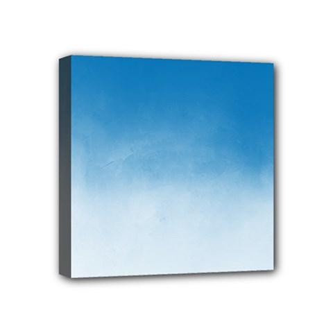 Ombre Mini Canvas 4  X 4  by ValentinaDesign