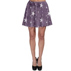 Star Texture Patterns  Skater Skirt by amphoto