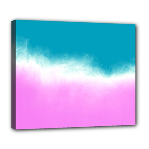 Ombre Deluxe Canvas 24  X 20   by ValentinaDesign