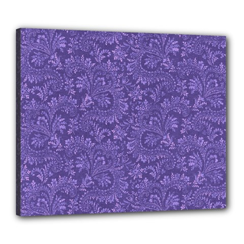 Floral Pattern Canvas 24  X 20  by ValentinaDesign