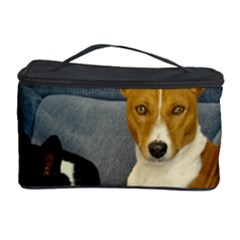 2 Basenjis Cosmetic Storage Case