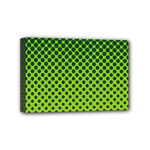 Halftone Circle Background Dot Mini Canvas 6  X 4