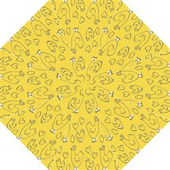 Chicken Chick Pattern Wallpaper Straight Umbrellas